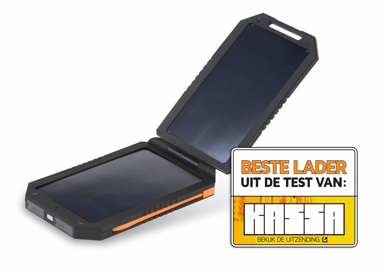 kassa test zonneladers powerbanks van wakawaka en xtrom