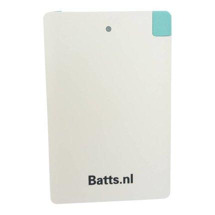 Batts Creditcard powerbank 2500 mah