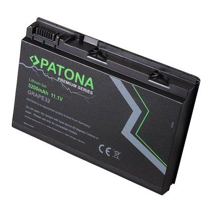 Patona Battery TravelMate 5320 5520-401G12 5520-7A2G1 5520 - additional power
