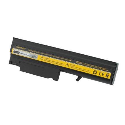 Patona Battery IBM Thinkpad T40 T41 T42 T43 R51 02K8193 4400 mAh