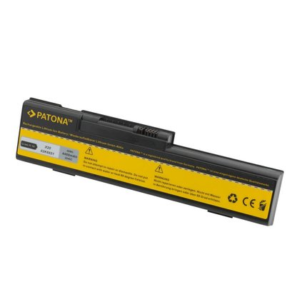 Patona Battery IBM Thinkpad X20 X21 X22 02K6852 02K6854 08K802