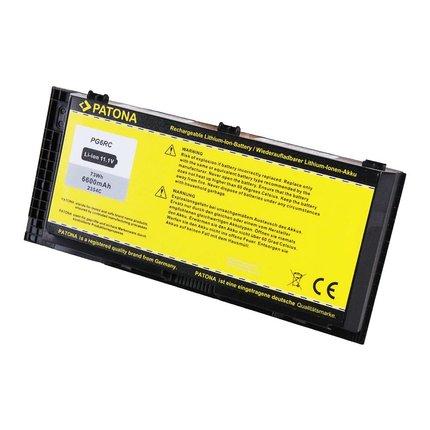 Patona Accu Dell Precision M4600 M-4600 M4700 M-4700 M6600 M-6600