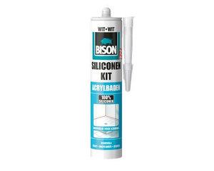 Bison Siliconenkit acrylbaden 310ml