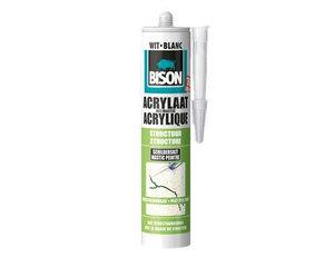 Bison Acrylaatkit structuur wit 310ml