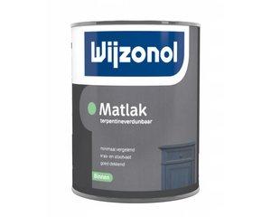 Wijzonol Matlak op terpentinebasis