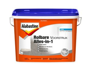 Alabastine Rolbare Voorstrijk Alles-in-1
