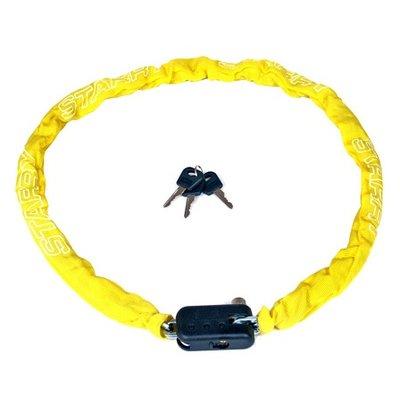 Starry Kettingslot in het geel (90CM)