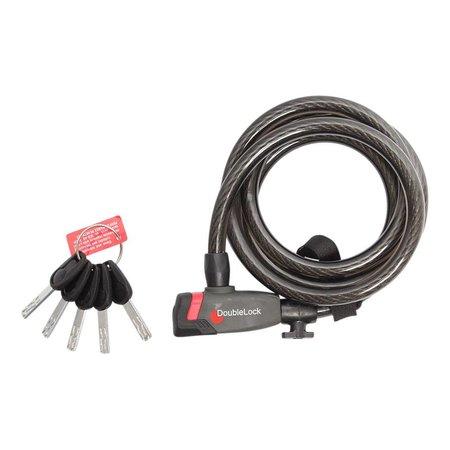 DoubleLock  Kabelslot Coil Cable Key 185 CM - 12 MM