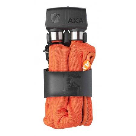 AXA Vouwslot Foldable 600 95cm met houder oranje