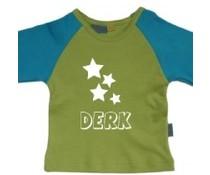 shirt met sterren en naam
