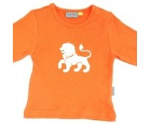 oranje shirtje met leeuw