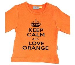 oranje Keep calm shirt