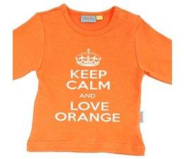 oranje Keep calm and love orange