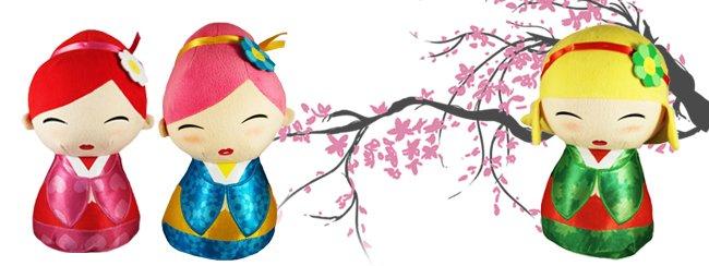 Aanbieding van de week: Geisha knuffels