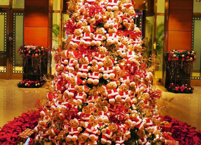 Teddybeer kerstboom 1