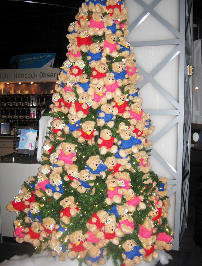 Teddybeer kerstboom 2