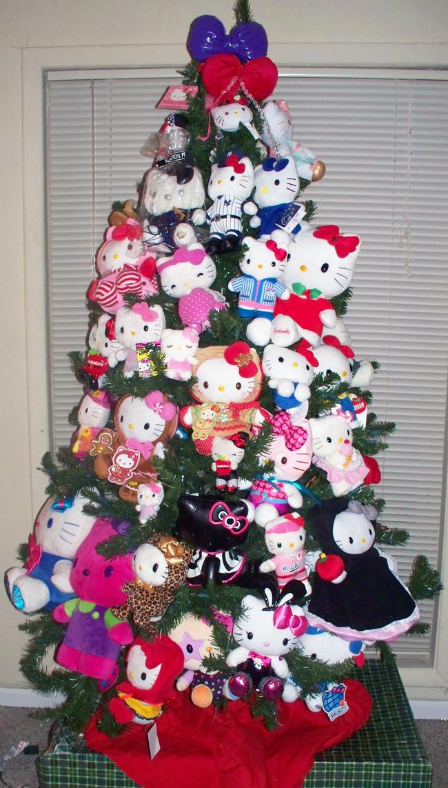 Teddybeer kerstboom 4