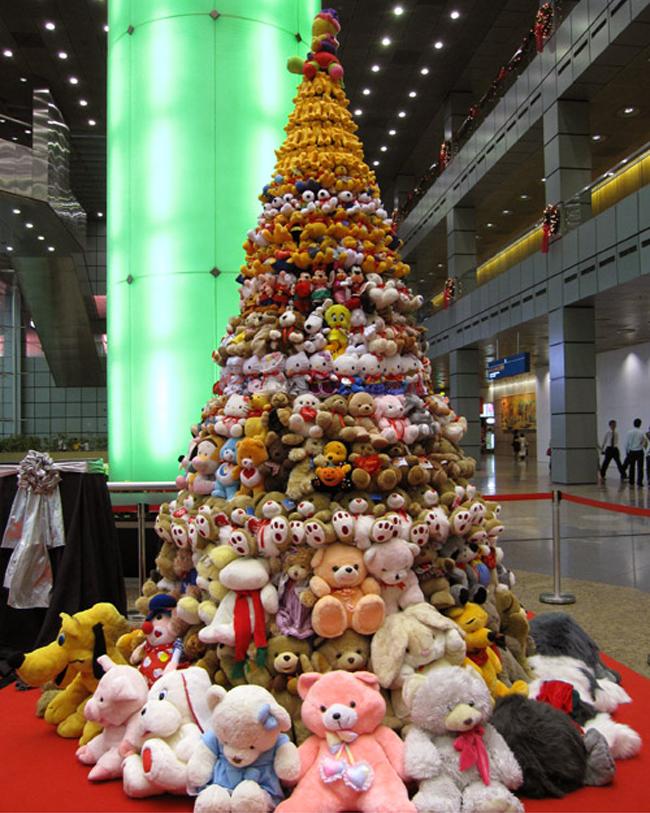 Teddybeer kerstboom 3