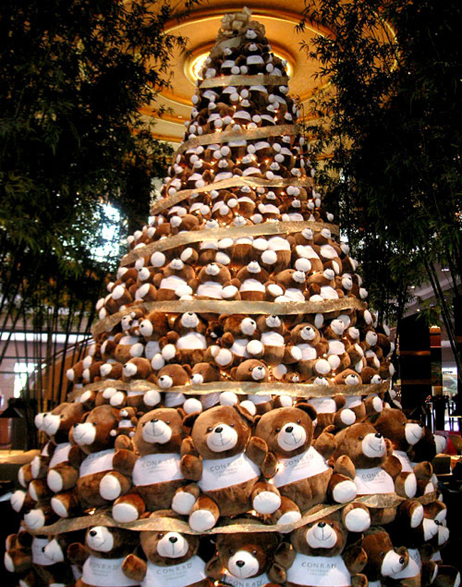 Teddybeer kerstboom 5