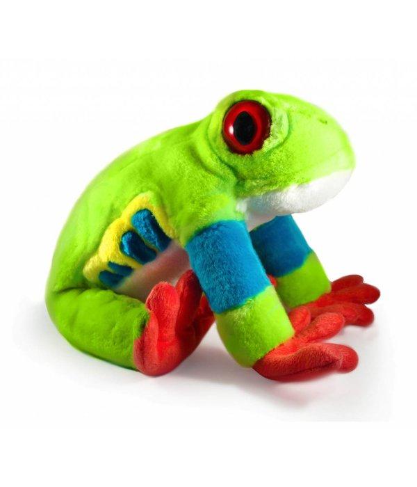 Kikker knuffel: Roodoogmakikikker