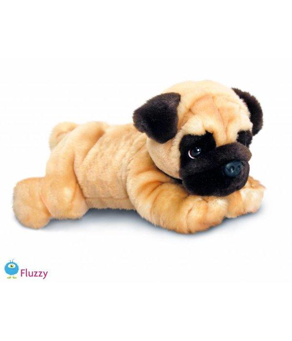Hond knuffel Mopshond