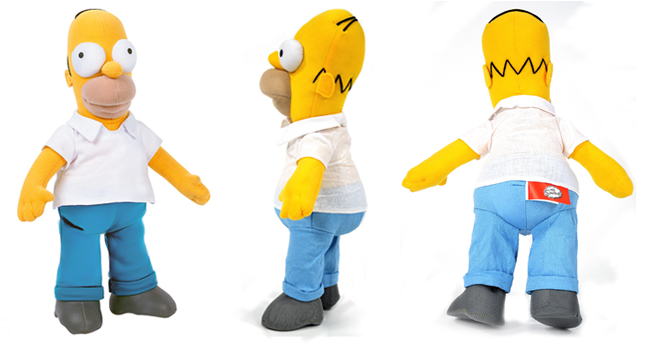 Nieuwe knuffels van sneeuwwitje the simpsons en - Homer simpson nu ...