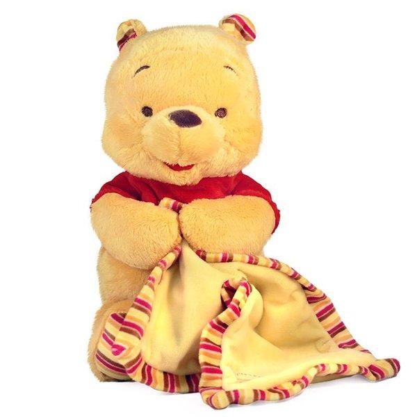 Winnie the Pooh baby knuffel met doek