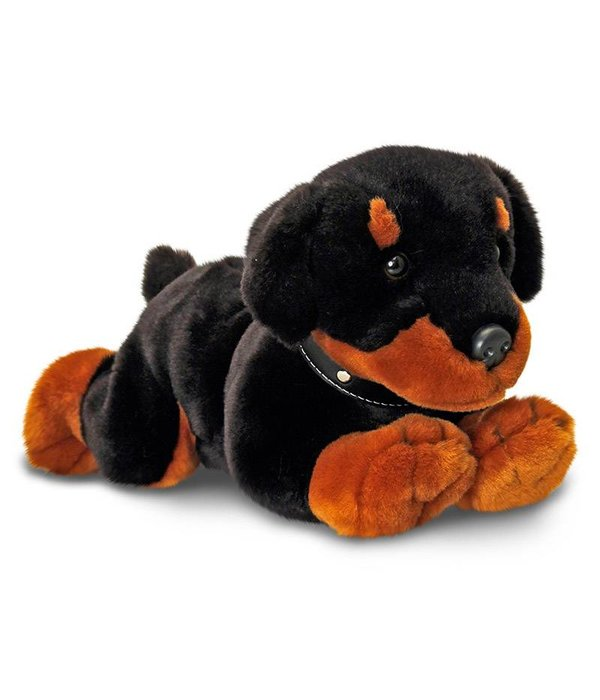 Hond knuffel Rottweiler 'Ronnie'