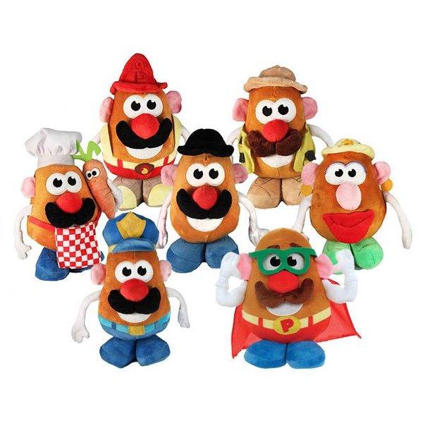 Mr Potato Head knuffel (keuze uit 7 soorten)