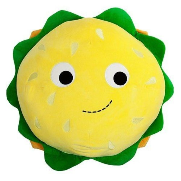 Yummy World Cheesburger XL knuffel 'Bubba'