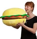 Yummy World Yummy World Cheesburger XL knuffel 'Bubba'