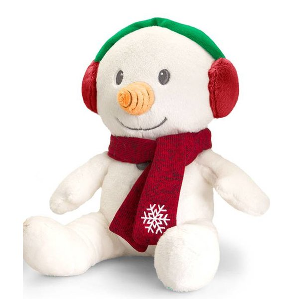 Kerst knuffel Sneeuwpop