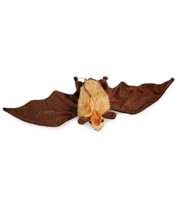 Vleermuis knuffel bruin