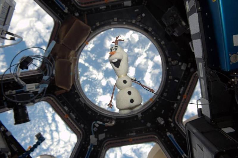 """A giant leap for stuffed animals"": knuffels in de ruimte"