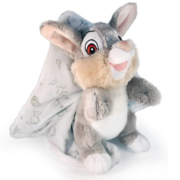 Bambi Stampertje baby knuffel met doek