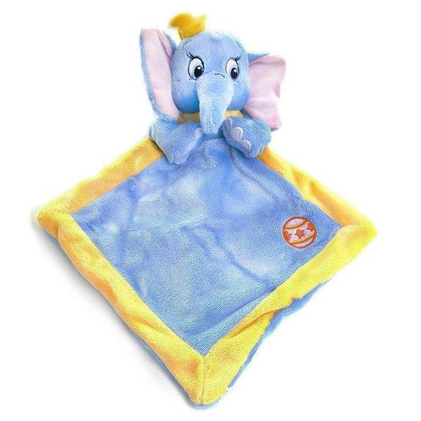 Disney Dombo baby knuffeldoekje (blauw)
