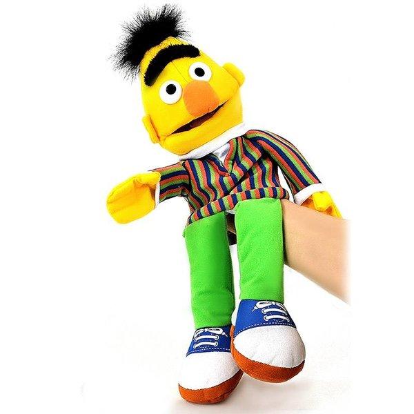 Sesamstraat handpop knuffel: Bert