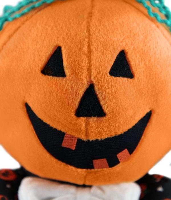 Halloween knuffel Mr Pumpkin Head (pompoen)