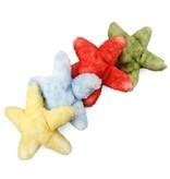 Zeester knuffel, groen, rood, blauw of geel (18 cm)
