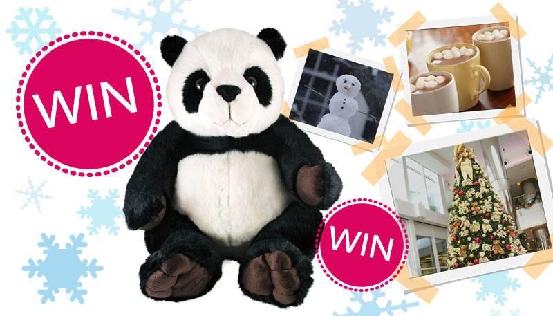 WINACTIE: WIN een panda knuffel met je leukste winterfoto!