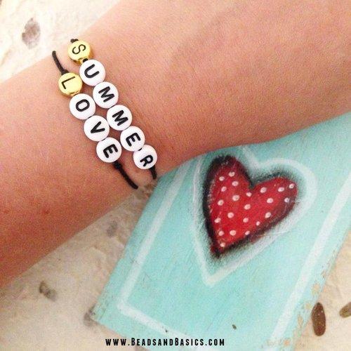 Summer Love Quote Armbandjes
