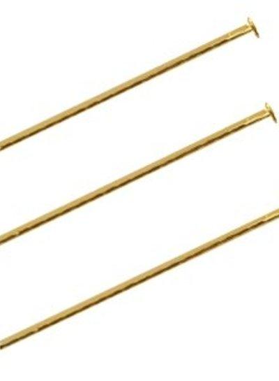 Nietstiften Goud 50mm, 30 stuks