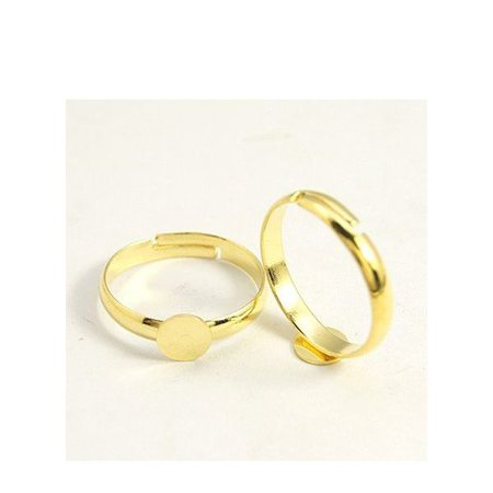 Adjustable Ring Gold 17mm