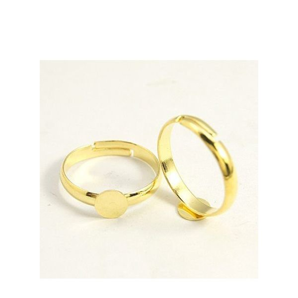 Adjustable Ring Gold 17mm