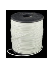 3 meter Waxcord White 1mm