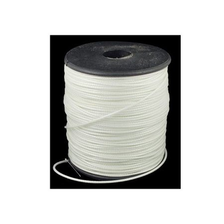 3 meter Waxed Cord White 1mm
