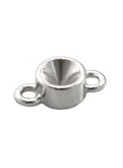 DQ Connector Silver colour 15x8mm for Point Stone ss29 / 6.2