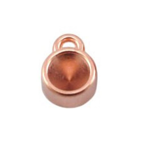 DQ Charm Rose Gold