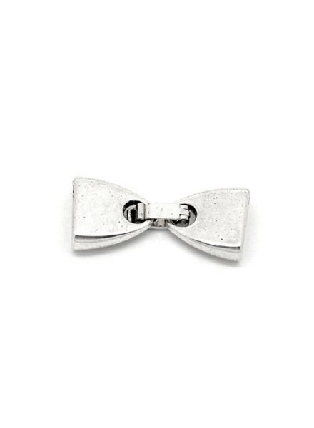 Silver Clasp for 10mm Leather Band