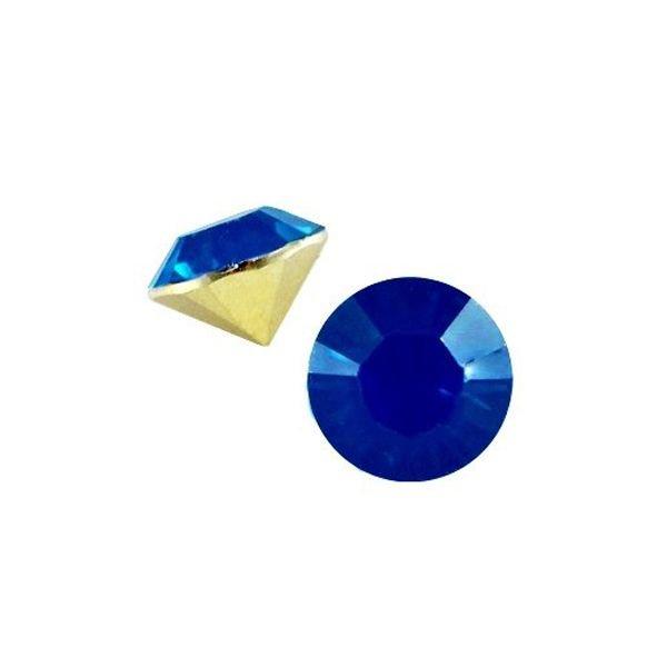 Point Stone SS29 Dark capri blue opal 6.2mm
